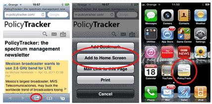 iphone add home